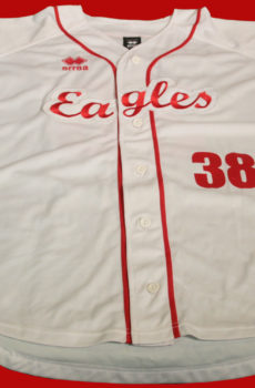 jersey des Eagles Club de baseball a angers